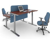 Sit-stand desks create a healthier work environment