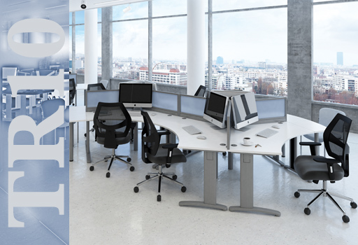 TR10 - Dams latest range of desking